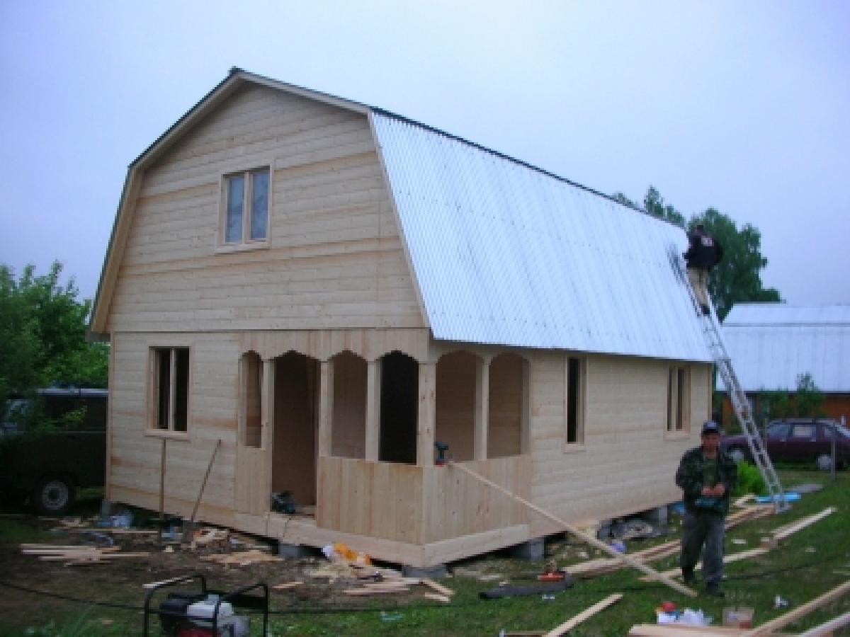 Дачный домик дёшево своими руками