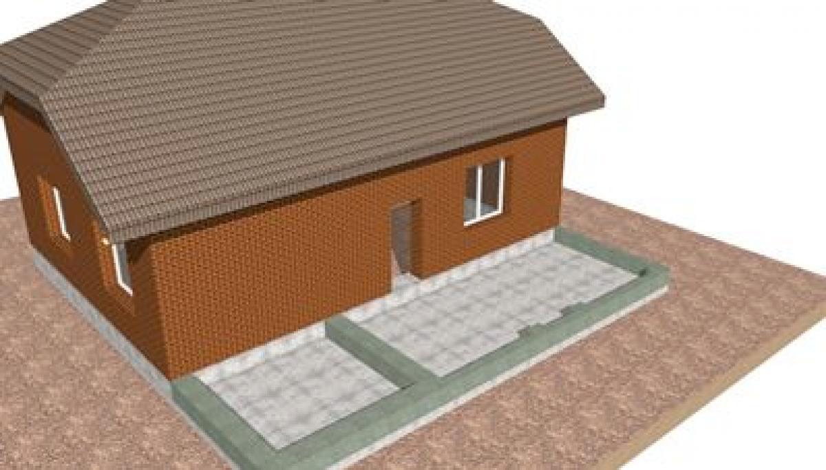 Как пристроить гараж к деревянному дому своими  591